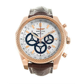 Breitling Bentley Barnato R2536621 18K Rose Gold 48mm Mens Watch