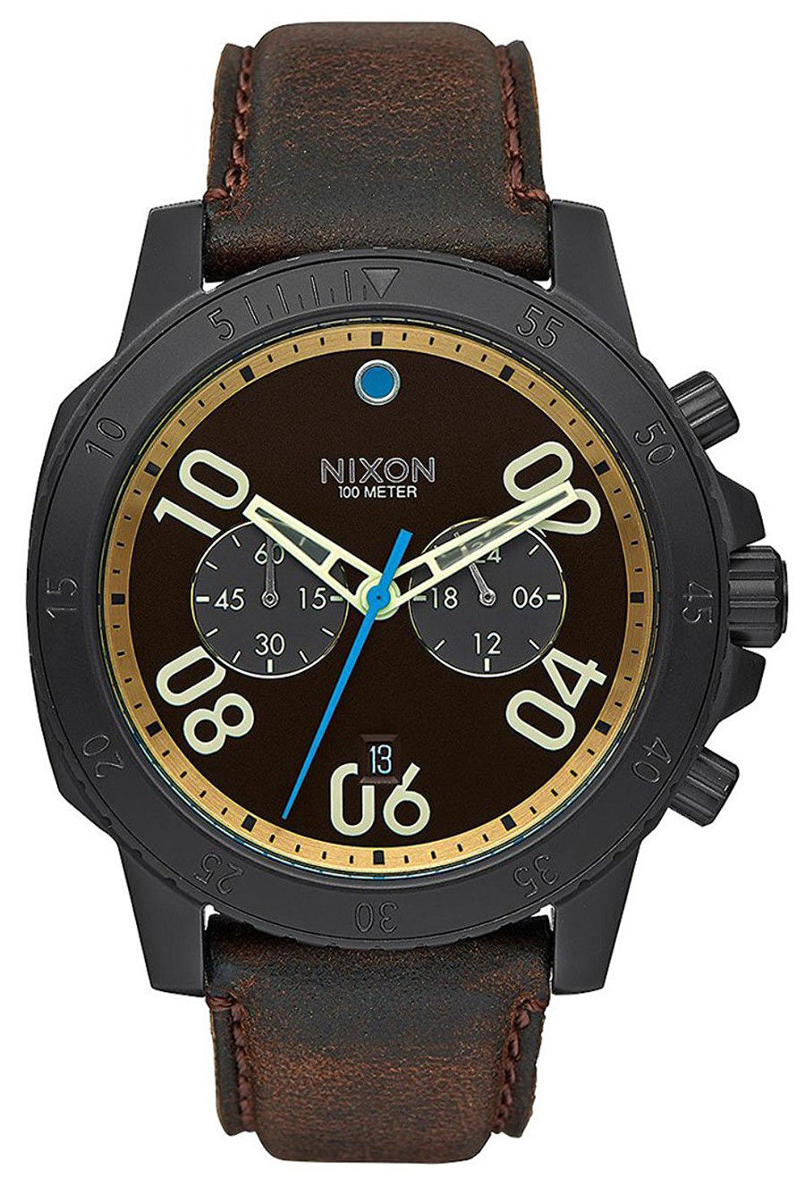 """Image of """"Nixon A940-2209 Black Ion Plated Stainless Steel 44mm Mens Watch"""""""