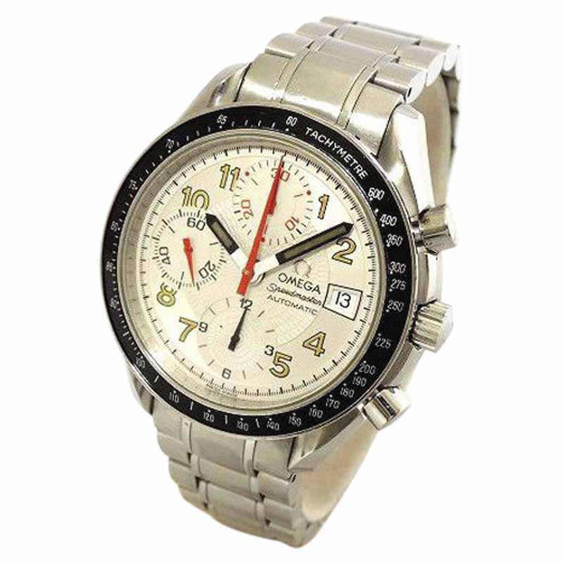 "Image of ""Omega Speedmaster Mark 40 Date 3515.33 Stainless Steel White Automatic"""