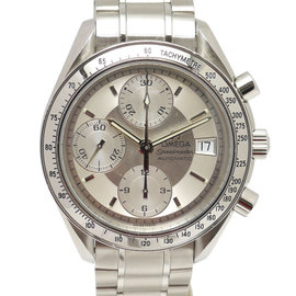 Omega Speedmaster 3513.30 Stainless Steel Silver Dial Automatic 38mm Mens Watch