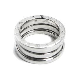 Bulgari B.Zero1 750 White Gold Ring Size 6