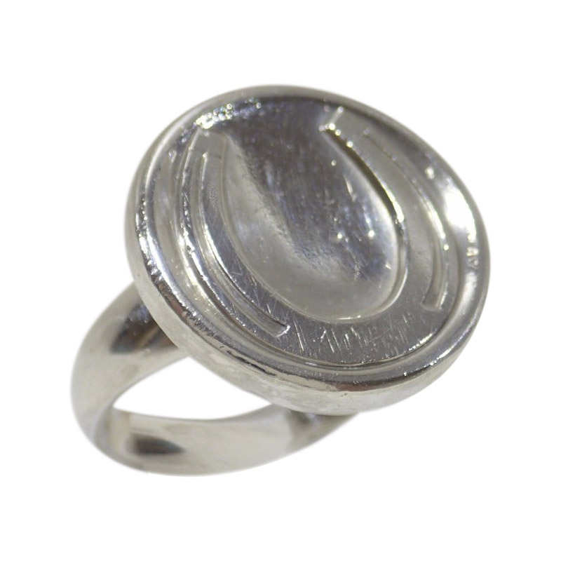 "Image of ""Georg Jensen 925 Sterling Silver Ring Size 6"""