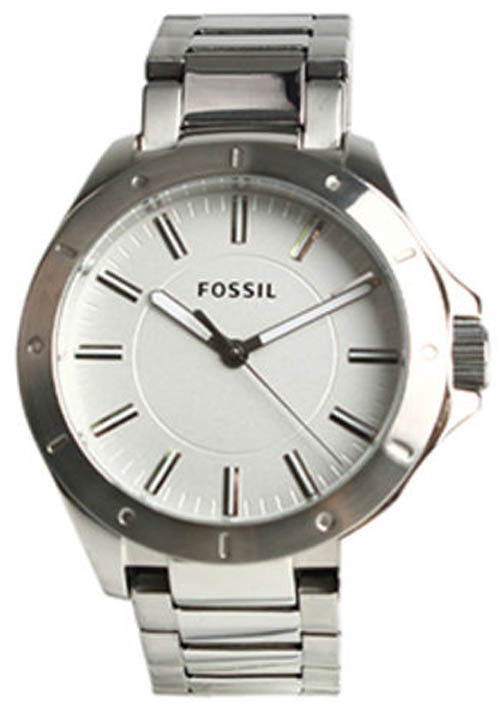 "Image of ""Fossil Bq1300 Stainless Steel Quartz 45mm Mens Watch"""
