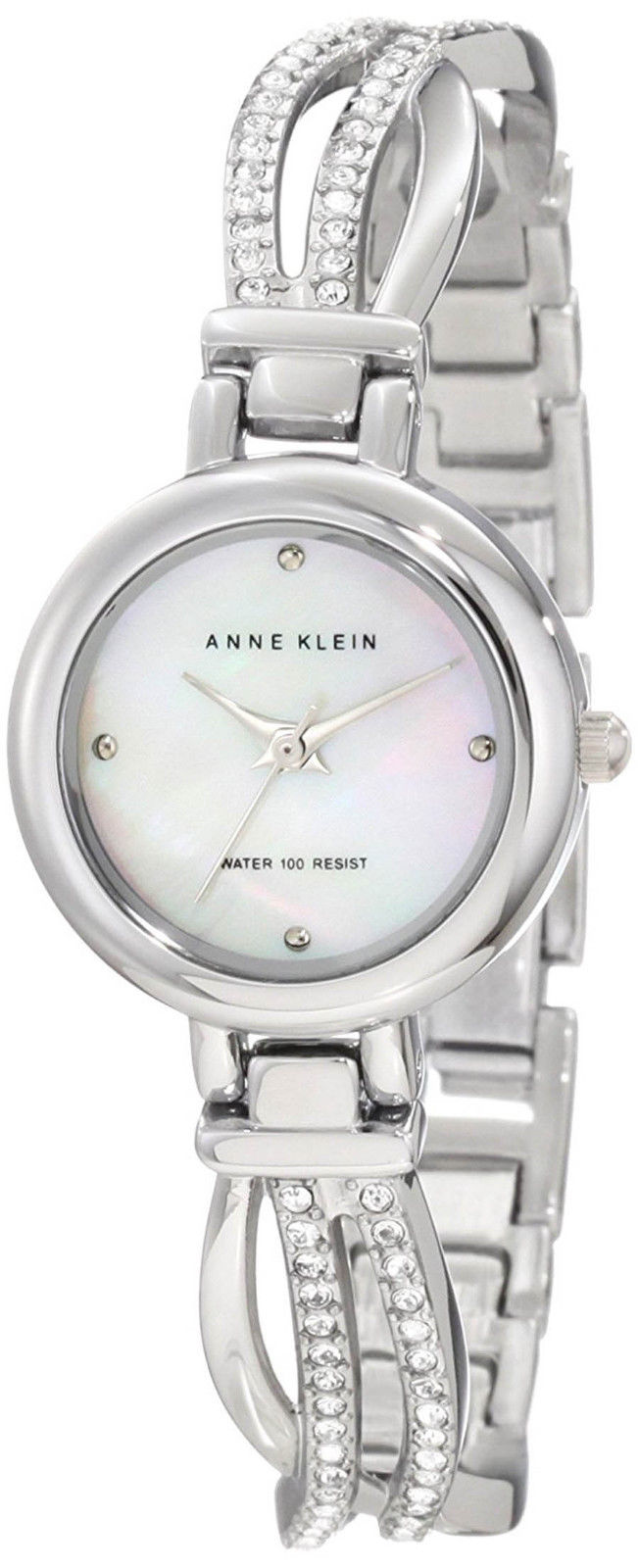 "Image of ""Anne Klein 10/9475Mpsv Mother of Pearl Dial Stainless Steel 23mm"""