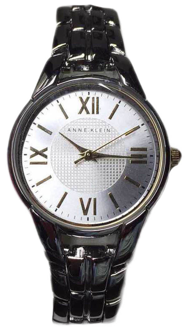 "Image of ""Anne Klein Ak/2055Svtt Stainless Steel Silver Dial 30mm Womens Watch"""
