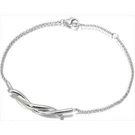 Cartier 18k White Gold Entrelace Bracelet