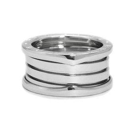 Bulgari Bvlgari B.Zero1 750 White Gold Ring Size 6.75