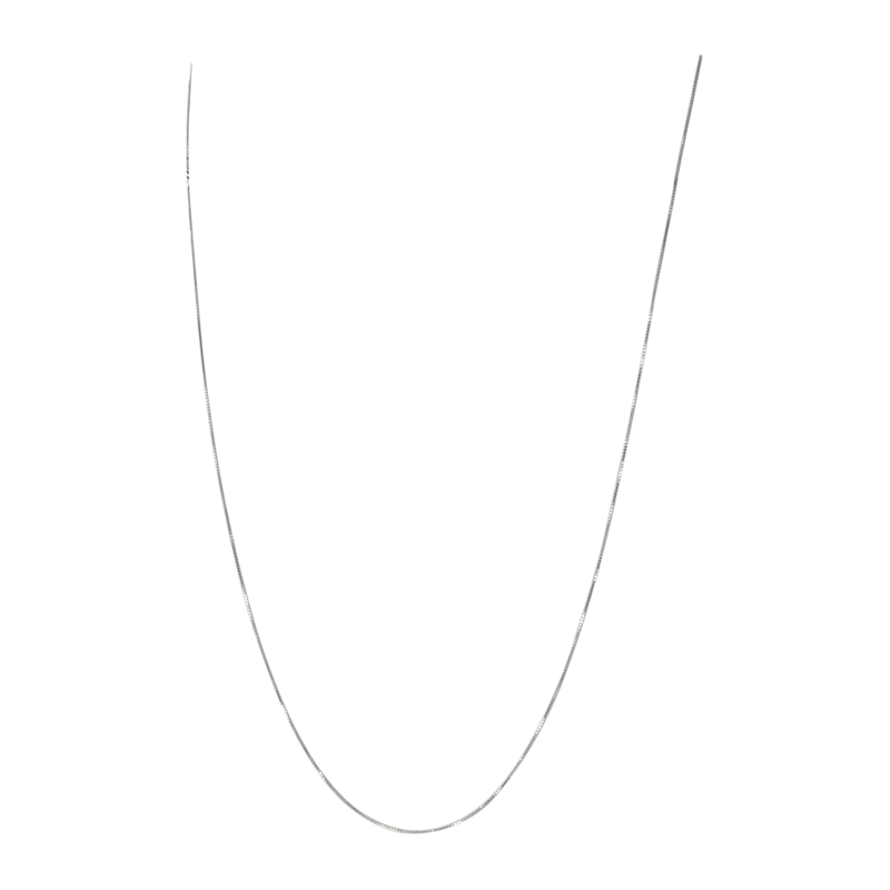 "Image of ""Tous 18K White Gold Snake Chain Necklace"""