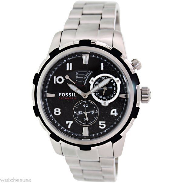 "Image of ""Fossil Me3038 Stainless Steel Quartz 45mm Mens Watch"""