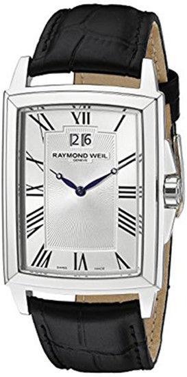 "Image of ""Raymond Weil 5596-Stc-00650 Stainless Steel Analog Display Quartz"""