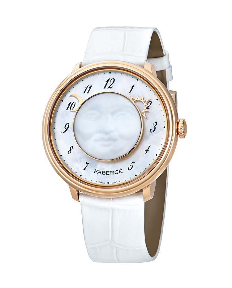"Image of ""Fabergé Lady Levity 18 Karat Rose Gold Watch"""