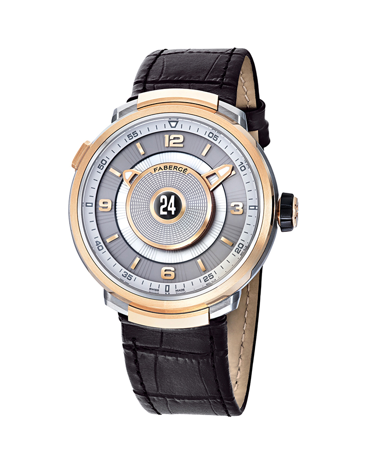 "Image of ""Fabergé Visionnaire Dtz 18 Karat Rose Gold Watch"""