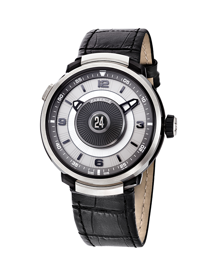"Image of ""Fabergé Visionnaire Dtz 18 Karat White Gold Watch"""
