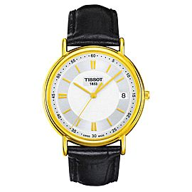 Tissot Classic Carson T907.410.16.031.00 18K Yellow Gold 40mm Mens Watch