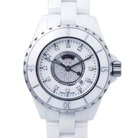 Chanel J12 H2123 White Ceramic Watch
