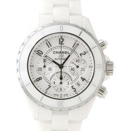 Chanel J12 H1007 White Ceramic Automatic 41mm Watch