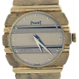Piaget Polo 18K Yellow Gold 24mm Watch