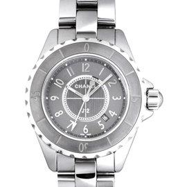 Chanel J12 H2978 Chromatic Gray Ceramic Quartz 33mm Watch