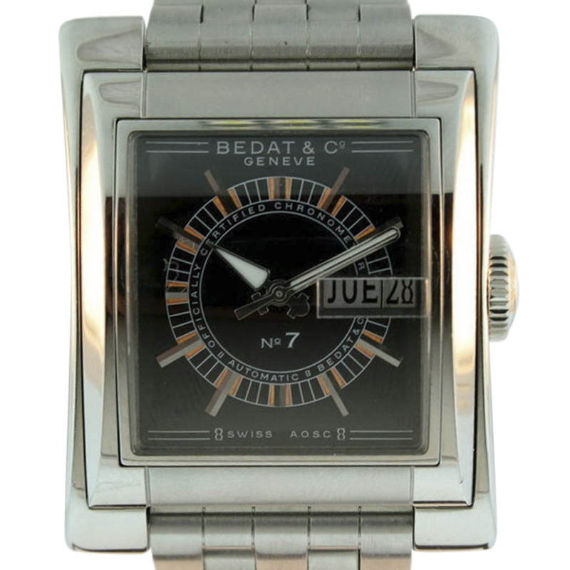 "Image of ""Bedat & Co. No.7 Automatic Stainless Steel Mens Watch"""