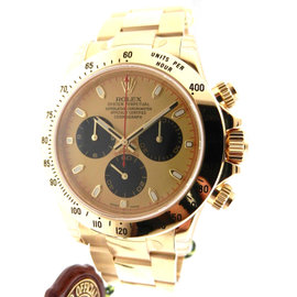 Rolex Daytona 116528 Yellow Gold Oyster Paul Newman Dial 40mm Watch