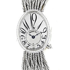Breguet 8918bb Reine De Naples Automatic Diamond White Gold Watch