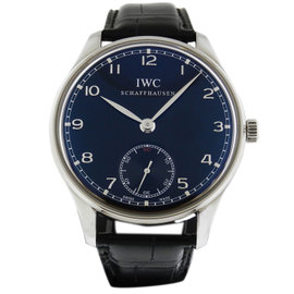 IWC Portuguese Manual Wind B&P Black Dial IW545407 Watch