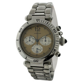 Cartier Pasha Stainless Steel Chronograph With Date 38mm Watch