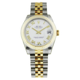 Rolex Datejust Stainless Steel & 18K Gold 31mm Womens Watch