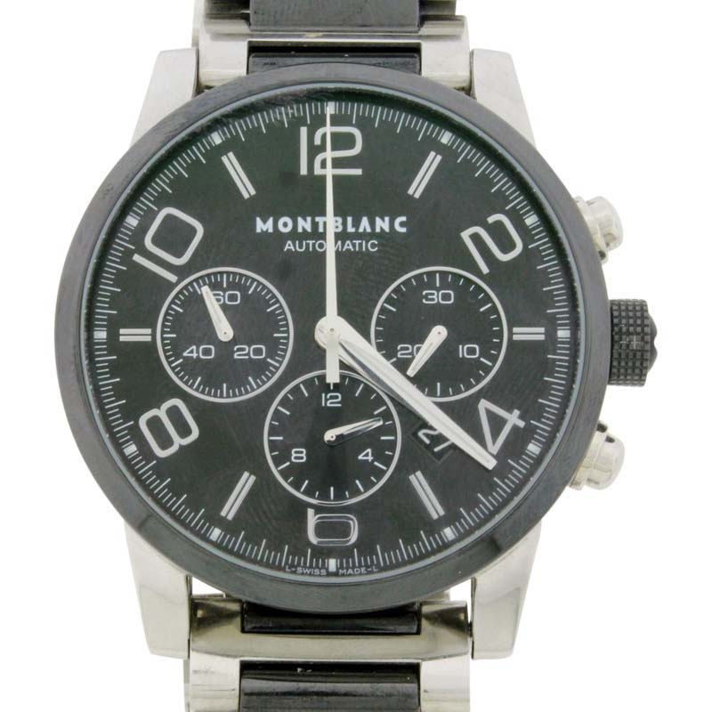 """Image of """"MontBlanc TimeWalker 103094 Chronograph Stainless Steel 43 mm Watch"""""""