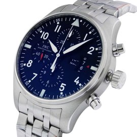 IWC Pilot's Watch Chronograph IW377704 Stainless Steel 43mm Mens Watch