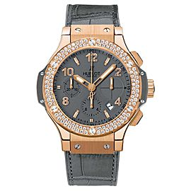 Hublot 341.PT.5010.LR.1104 Big Bang Earl Gray Gold 18K Rose Gold 41mm Mens Watch