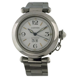 Cartier Pasha Stainless Steel Automatic Big Date Automatic 35mm Watch