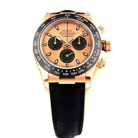 Rolex Daytona Cosmograph 116515 Rose Gold Pink Dial Everose Mens Watch