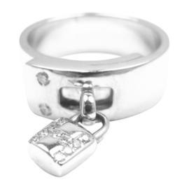 Hermes 18K White Gold Diamond