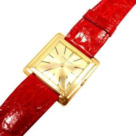 Audemars Piguet 18K Gold Thin Square Case Watch