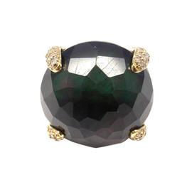 Ippolita 18K Yellow Gold Labradorite Diamond Ring