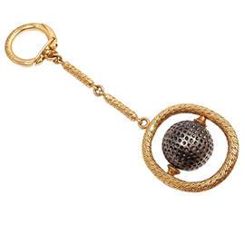 Patek Phillipe 18K Yellow Gold Golf Ball Key Chain