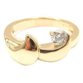 John Atencio 14K Yellow Gold Diamond Modern Ring