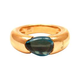 Pomellato Sassi 18K Rose Gold Topaz Ring