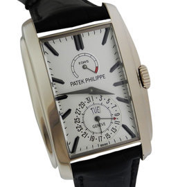 Patek Philippe Gondolo White Gold 5200G-010 Opaline Dial Watch