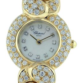 Chopard Casmir 18K Yellow Gold Womens Watch