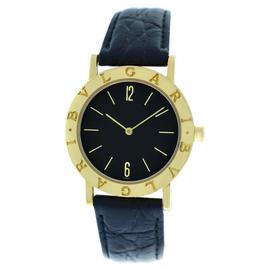 Bvlgari Bulgari BB 33 GL 18K Yellow Gold Watch