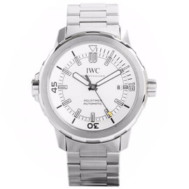 IWC IW329004 Aquatimer Silver Dial Steel Bracelet Watch