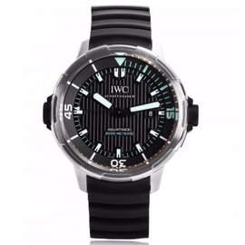 IWC Aquatimer Automatic 2000 46mm 358002 Titanium Black Rubber Watch