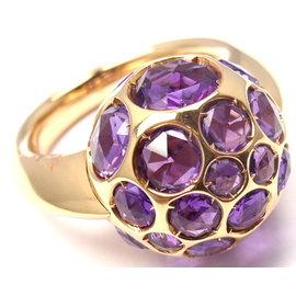 Pomellato Harem 18k Rose Gold Amethyst Ring