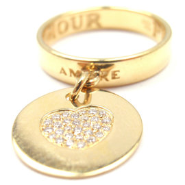 Pasquale Bruni 18K Yellow Gold Amore Diamond Ring