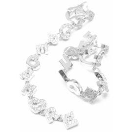 Pasquale Bruni AMORE 18k White Gold Diamond Earrings
