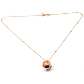 Pasquale Bruni 18k Rose Gold Diamond and Sapphire Necklace