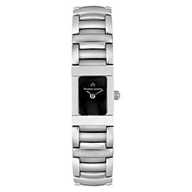 Maurice Lacroix M0104260 Black Dial Silver Stainless Steel Bracelet Womens Watch