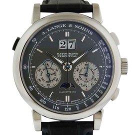 A. Lange & Sohne Datograph Perpetual Platinum Watch